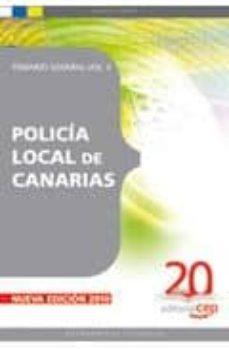 Geekmag.es Policia Local De Canarias. Temario General Vol. Ii. Image