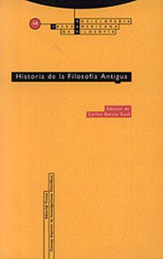 historia de la filosofia antigua-9788481641547