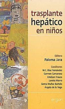 Ebooks revistas descarga gratuita TRANSPLANTE HEPATICO EN NIÑOS en español de