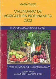 Descarga de libros para kindle CALENDARIO DE AGRICULTURA BIODINAMICA 2020. EL ORIGINAL DESDE HAC E 58 AÑOS