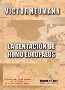 Bressoamisuradi.it La Tentación De Homo Europaeus Image