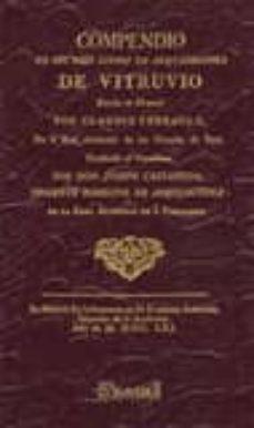 Valentifaineros20015.es Compendio De Los Diez Libros De Arquitectura De Vitruvio (Facsimi L) Image