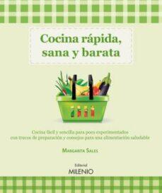 cocina rapida, sana y barata-margarita sales csonka-9788497435147