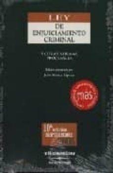 Inmaswan.es Ley De Enjuiciamiento Criminal Y Otras Normas Procesales (10ª Ed. ) Image