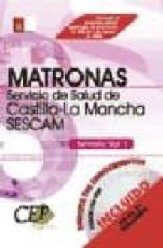 Srazceskychbohemu.cz Oposiciones Matronas. Servicio De Salud De Castilla-la Mancha (Se Scam). Temario (Vol. I) Image