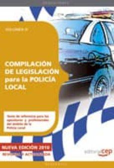 Carreracentenariometro.es Compilacion De Legislacion Para La Policia Local. Volumen Iii. Image