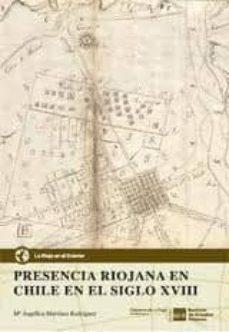 Cdaea.es Presencia Riojana En Chile En El Siglo Xviii Image