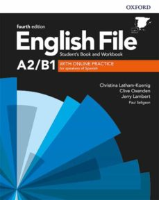 Descarga libros gratis para ipad yahoo ENGLISH FILE 4TH EDITION A2/B1. STUDENT S BOOK AND WORKBOOK WITHOUT KEY PACK PDB FB2 9780194037457 de