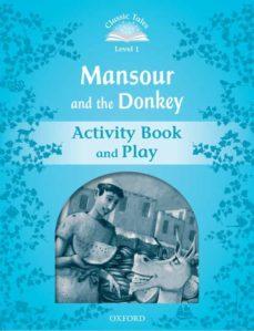 classic tales 1 mansour & donkey ab 2ed-9780194238557