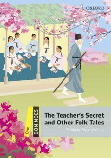 Descarga gratuita de libros de internet DOMINOES 1. THE TEACHER S SECRET AND OTHER FOLK TALES (+ MP3) en español