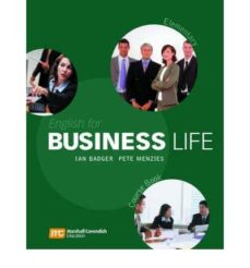 Libro descarga gratis ipod ENGLISH FOR BUSINESS LIFE ELEMENTARY 9780462007557 (Literatura española) ePub PDF