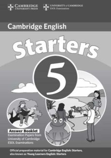 Titantitan.mx Starters 5: Cambridge Young Learners English Tests (Answer Bookle T) Image