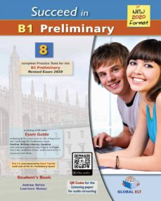 Ebooks para móvil descarga gratuita pdf SUCCEED IN B1 PRELIMINARY 2020 FORMAT SELF STUDY EDITION (Literatura española) de AA VV