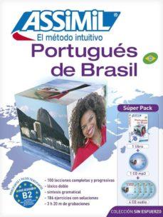 portugues de brasil sin esfuerzo: super pack (livre + 4 cd audio + 1 cd mp3)-marie-pierre mazeas-monica hallberg-9782700580457