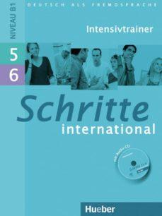 schritte international 5 + 6 intensivtr + cd-9783190118557