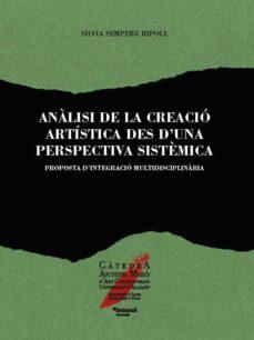 Inmaswan.es Anàlisi De La Creació Artística Des D Una Perspectiva Sistèmica Image
