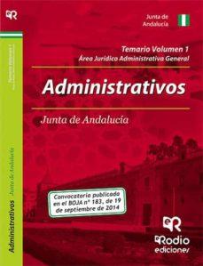 Eldeportedealbacete.es Administrativos De La Junta De Andalucía. Temario. Volumen 1 Image