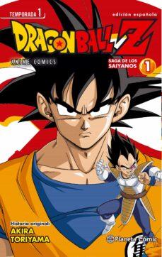 dragon ball z anime series saiyan nº01/05-akira toriyama-9788416308057