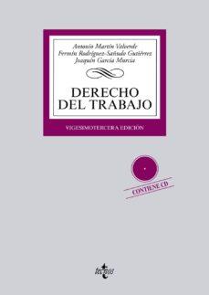 Ojpa.es Derecho Del Trabajo (23ª Ed.) (Contiene Cd) Image