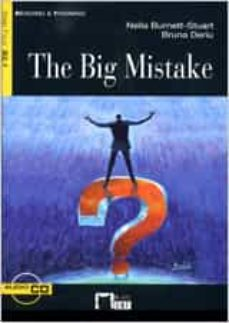 Rapidshare descargar libro THE BIG MISTAKE (INCLUYE 1 CD) 9788431642457 ePub RTF in Spanish