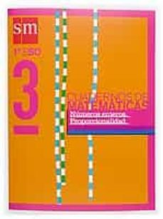 Lofficielhommes.es Proyecto Recuperacion. Cuaderno De Matematicas 3 (1º Eso): Numero S Enteros, Proporcionalidad (Ed. 2004) Image
