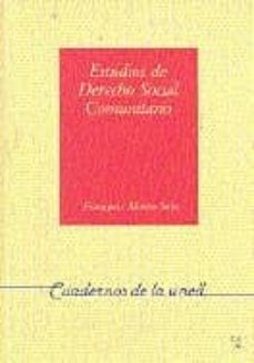 Encuentroelemadrid.es Estudios De Derecho Social Comunitario Image