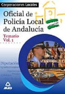 Emprende2020.es Policia Local De Andalucia. Oficiales: Temario (Vol. I) Image