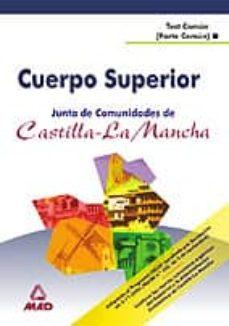 Permacultivo.es Cuerpo Superior De La Junta De Comunidades De Castilla La Mancha: Test Comun (Parte General) Image