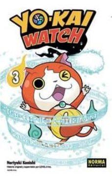 yo-kai watch 03-noriyuki konishi-9788467923957