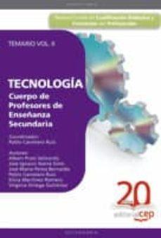 Carreracentenariometro.es Cuerpo De Profesores De Enseñanza Secundaria. Tecnologia. Temario Vol. Ii Image