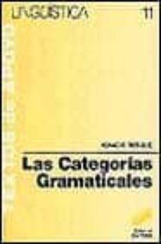 las categorias gramaticales-ignacio bosque-9788477380757
