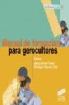 Descarga de libros de Android gratis en pdf. MANUAL DE FORMACION PARA GEROCULTORES (Literatura española) PDF RTF