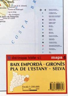 Encuentroelemadrid.es Mapa 6. Baix Emporda; Girones; Pla De L Estany; .Selva Image