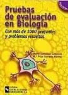 Costosdelaimpunidad.mx Pruebas De Evaluacion En Biologia (Incluye Cd-rom) Image