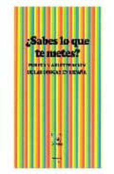 Amazon descargar audiolibros mp3 ¿SABES LO QUE TE METES?: PUREZA Y ADULTERACION DE LAS DROGAS EN E SPAÑA
