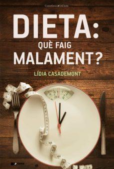 Descarga gratuita de libros electrónicos para joomla DIETA: QUE FAIG MALAMENT?