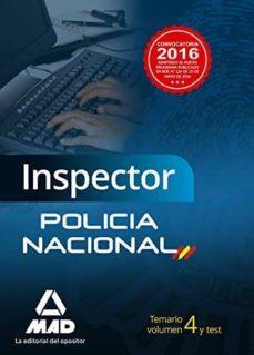 Colorroad.es Inspector Cuerpo Policia Nacional Vol 4 Y Test Image