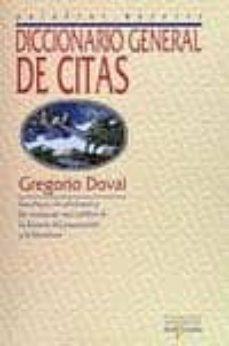 diccionario general de citas (3ª ed)-gregorio doval-9788496617957