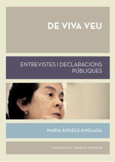 Cdaea.es De Viva Veu: Entrevistes I Declaracions Publiques Image