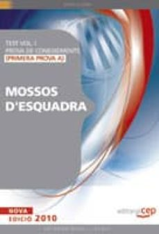 Permacultivo.es Test Per A Mossos D Esquadra De La Generalitat De Catalunya. Volu M I (Primera Prova A) Prova De Coneixements Image