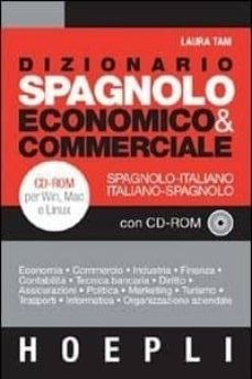 Titantitan.mx Dizionario Spagnolo Economico &Amp; Commerciale (+Cd) Image