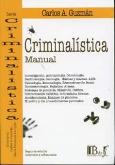 criminalistica (manual)-carlos a. guzman-9789974676657