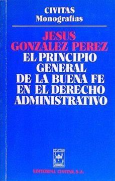 Curiouscongress.es El Principio General De La Buena Fe En El Derecho Administrativo Image