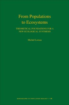 from populations to ecosystems (ebook)-michel loreau-9781400834167