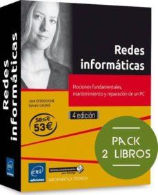 Bressoamisuradi.it Redes Informaticas (Pack De 2 Libros): Nociones Fundamentales, Mantenimiento Y Reparacion De Un Pc (4ª Ed.) Image