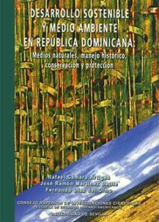 desarrollo sostenible y medio ambiente en república dominicana (ebook)-fernando diaz del olmo-rafael camara artigas-9788400090067