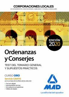 Curiouscongress.es Ordenanzas Y Conserjes De Corporaciones Locales. Test Del Temario General Y Supuestos Practicos Image