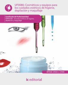 Permacultivo.es Uf0086 Cosméticos Y Equipos Para Los Cuidados Estéticos De Higiene, Depilación Y Maquillaje Image
