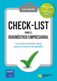 check-list para el diagnóstico empresarial (ebook)-luis muñiz-9788416583867