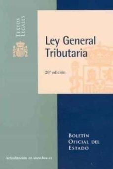 Inmaswan.es Ley General Tributaria (20ª Ed) Image